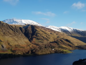 Towards Robinson over Crummock Water